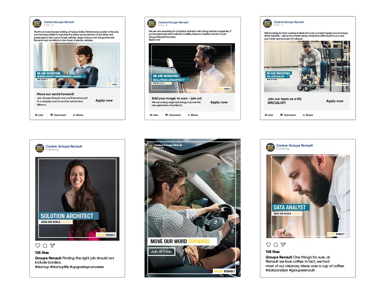 Renault Social Media